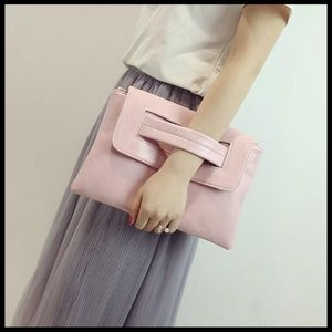 NEW Envelope Clutch Messenger